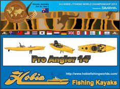 2013 Hobie World Fishing Kayak Fishing Tournament #fishingkayak