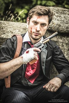 Booker DeWitt by Supremeoutcast Cosplay  © Andrei Guiamoy Photography 2013