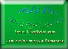 cestitke za: Čestitka za Ramazan Zelena