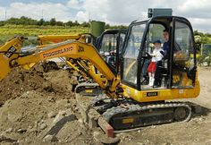 Do you have kids with Bob the Builder on the brain? Take them to one of the four Diggerland amusement parks in the United Kingdom.