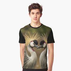 Buy Birds, My T Shirt, Chiffon Tops, Classic T Shirts, Canvas Prints, Printed, Awesome, Mens Tops, Shopping