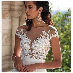 Fair Lady Women's Sexy Lace Wedding Dresses Prom Custom Gown at Amazon Women's Clothing store: