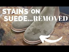 Suede and nubuck are very resilient, but as with most leathers, they need to be cared for properly in order to look great and to last. In this video, we disc. Cleaning Leather Boots, Clean Suede Boots, Clean Shoes, Suede Shoes, How To Clean Suade, Suede Leather, Leather Shoes, Leather Bags, Cleaning Products