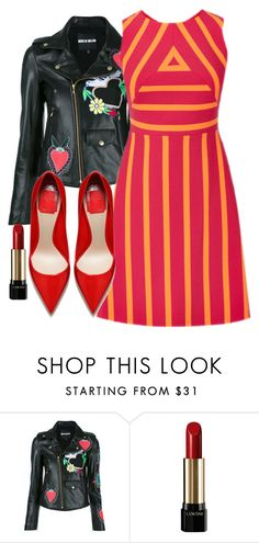 """""""Untitled #777"""" by lazzle ❤ liked on Polyvore featuring House of Holland and Lancôme"""