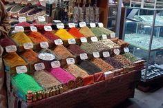 spices, spices  more ... spices