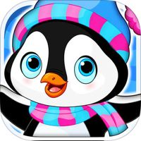 Arctic Penguin Monty in the Frozen Ice Cream Club Hunt Free Game by RisingHigh Studio