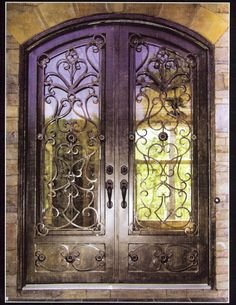 Beautiful Entry Metal Doors for Home
