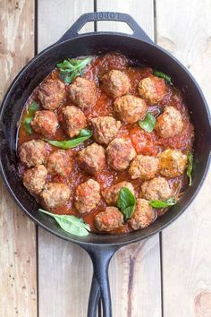 Paleo easy pan fried Italian Style meatballs paleo and low FODMAP - no onions or garlic but plenty of flavor and great for picky eaters! Fodmap Recipes, Paleo Recipes, Paleo Meals, Low Fodmap, Fodmap Diet, Fodmap Foods, Low Carb, Paleo On The Go, Paleo Dinner