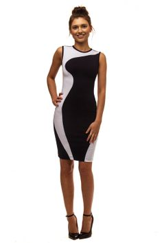 Try the Illusion Dress- $84. Wear with one of our fitted blazers to polish it off. www.masse.com.au - Great quality workwear for the office #workwear #style #summer #office Summer Office, Illusion Dress, Office Fashion Women, Style Summer, Workwear, Blazers, Dresses For Work, Polish, Store