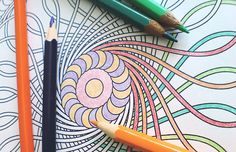 Don't know what to do with that fast test-taker during middle and high school exams? If you have access to a printer/copier, visit Patterns for Coloring and print out some great abstract coloring pages for them.