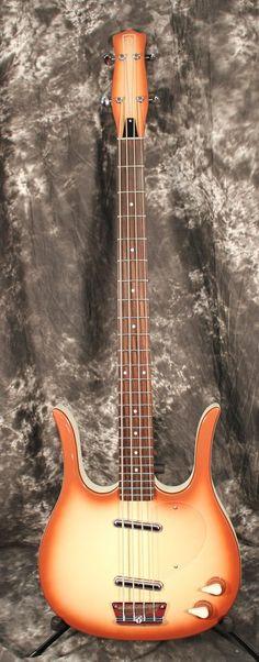 CHROME NEW Bridge and Rosewood Saddle for Danelectro® Longhorn Bass w// Screws