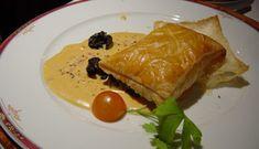 Feuilletés d'escargots à la crème d'ail - beurre salé au lieu de la margarine dans la crème