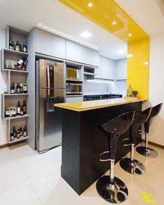 Most Popular Small Kitchen Organization Layout 40 Ideas Kitchen Room Design, Kitchen Cabinet Design, Modern Kitchen Design, Kitchen Colors, Home Decor Kitchen, Interior Design Kitchen, Modern Kitchen Interiors, Modern Kitchen Cabinets, Small Kitchen Organization