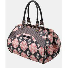 Petunia Pickle Bottom 'Wistful Weekender' Diaper Bag Blooming Begonia One Size | Shoes Handbangs