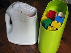 Ma maison au naturel: Idées de rangement pour les jouets de vos enfants
