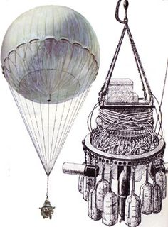 Japanese Balloon Bombs - The balloons were relatively ineffective as weapons but were used in one of the few attacks on North America during World War II.     Between November 1944 and April 1945, Japan launched over 9,300 fire balloons. About 300 balloon bombs were found or observed in North America, killing six people and causing a small amount of damage.