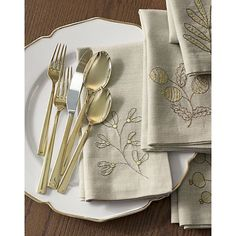The Top 5 Places For Gold Flatware - Crate & Barrel
