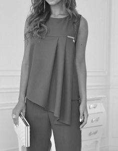 Выкройки на индивидуальные размеры by rosa Dress Sewing Patterns, Blouse Patterns, Blouse Designs, Hijab Fashion, Fashion Dresses, Diy Clothes, Clothes For Women, Fashion Details, Fashion Design