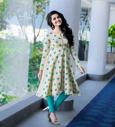 Anupama Parameswaran in Asmitha & Madhulatha design. Anupama Parameswaran in casual wear designed by Asmitha & Madhulatha. Beautiful Girl Photo, Beautiful Girl Indian, Most Beautiful Indian Actress, Kurta Designs, Kurti Designs Party Wear, Designer Party Wear Dresses, Indian Designer Outfits, Stylish Dresses, Fashion Dresses