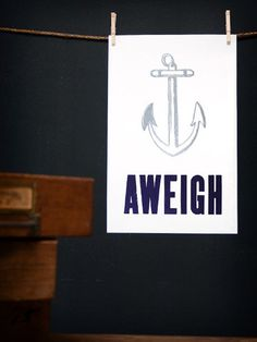Anchors Aweigh - The Old Try - tattoo idea. just much smaller