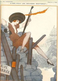 Art Deco Print 1922 Edition Of La Vie Parisienne
