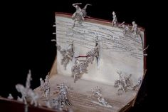 detail from the anonymouse filmhouse book sculpture of the cinema leaving the screen