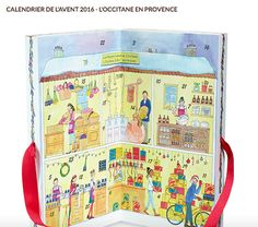 Calendrier de l'avent Occitane et My Little box 2016