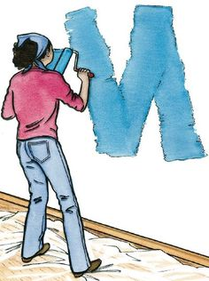 """TLC Home """"How to Paint a Room: Tips and Guidelines"""". I've painted a room before, but it is always good to have istructions handy to organize my thoughts. I always forget SOMETHING! :)"""