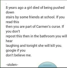 Scaryy i hate whoever posted this sorry plz tel me u didn't read it I hate that I read everything