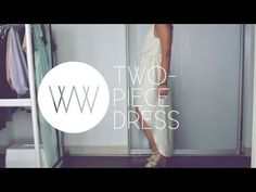 How to Make a Two-Piece Dress - YouTube