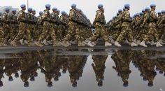united nations peacekeeping forces | ... United Nations peacekeeping operations, by sending in a contingent to