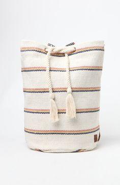 Bonfire Beachin Jute Backpack