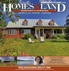 -- Volume 4 Issue 1 -- Homes&Land Demeures & Domaines by Chelsea Lax