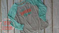 One thankful Mama raglan, Baseball t-shirt, Thanksgiving shirt, Shirts, raglans, Woman's shirts, Woman's clothes, long sleeve shirts, tees