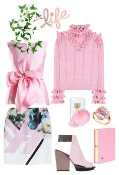 """""""Untitled #920"""" by sunnydays4everkh ❤ liked on Polyvore featuring Preen, Yanny London, Gucci, 3.1 Phillip Lim, R.H. Macy's & Co., Olympia Le-Tan, Ashlyn'd and Kobelli"""