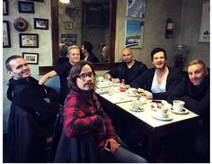Band meeting and coffee ofcourse
