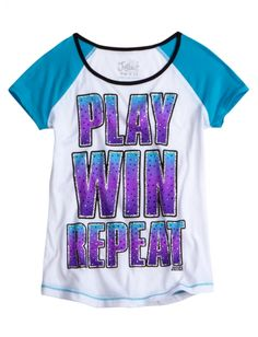 Positive Message Tee | Girls Active Outfits New Arrivals | Shop Justice