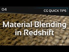 Material Blending in Redshift - CG Quick Tips #4 - YouTube