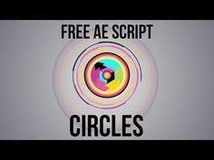 Circles - Free After Effects Script Walkthrough