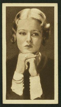 Joan Bennett, Arents Cigarette Cards
