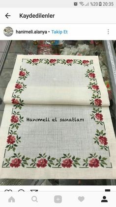This post was discovered by kaneviçe. Discover (and save!) your own Posts on Unirazi. Cross Stitch Heart, Cross Stitch Borders, Cross Stitch Flowers, Cross Stitching, Cross Stitch Patterns, Embroidery Patterns Free, Vintage Embroidery, Diy Crafts Hacks, Diy And Crafts