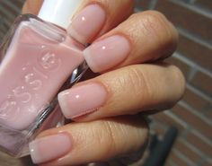 Essie Gel Couture - Sheer Fantasy Milky Nails, Nagellack Trends, Pink Nail Polish, Sheer Nail Polish, Gel Polish, Neutral Nails, Manicure And Pedicure, Mani Pedi, Pedicures