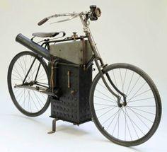 Na moto / moto do Vapor Roper 1896 - Motocicleta Harley Davidson, Vintage Motorcycles, Vintage Bikes, Sidecar, Dieselpunk, Automobile, Steampunk, Retro, Antiques