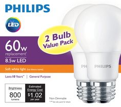 Philips Led Light Bulbs Rebate