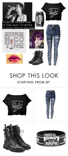 """p!atd outfit"" by day-dreamer-girl ❤ liked on Polyvore featuring Giuseppe Zanotti"