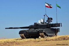 f61b187ec6c1 The Karrar is a new Iranian main battle tank. It is a significantly  upgraded version of the tank. It has improved protection and firepower.