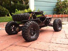 Project Wrexo! The business end! www.bendercustoms.com #Bendercustoms #Wrexo #Ultra4 #Dowork #Exo #Wraith