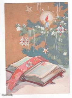 Martta Wendelin Antique Christmas, Vintage Christmas Cards, Retro Christmas, Xmas, Christmas Inspiration, Tis The Season, Finland, Martini, Illustrators