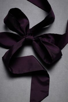 Dark purple silk sash