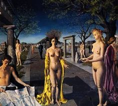 The entrance to the city - Paul Delvaux